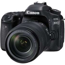 Reflex Canon EOS 80D + Objectif Canon EF-S 18-135mm IS USM (1263C012AA)