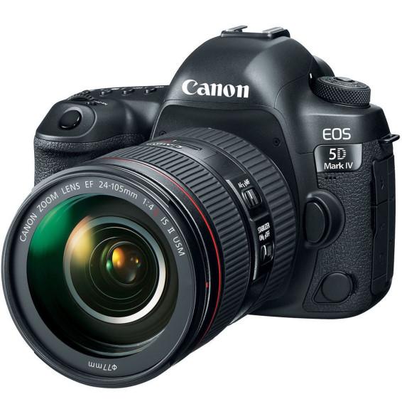 Appareil photo Compact Canon EOS 5D Mark IV + 24-105 F4L (1483C028AA)