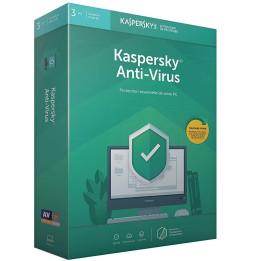 Kaspersky Antivirus 2020 - 3 Postes / 1 An