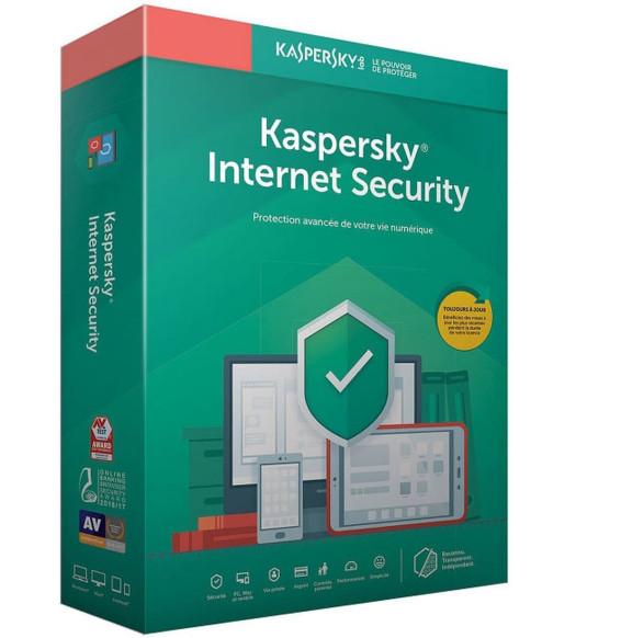 Kaspersky Internet Security 2020 - 10 Postes / 1 An