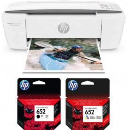 Imprimante multifonction Jet d'encre HP DeskJet Ink Advantage 3775 (T8W42C)