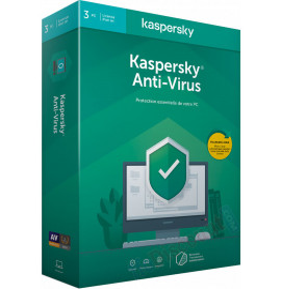 Kaspersky Anti-virus 2020 - 3 Postes /1 an(KL11718BCFS-20FFPMAG)