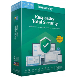 Kaspersky Total Security 2020 - 5 Postes / 1 an (KL19498BEFS-20MAG)