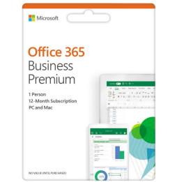 Microsoft Office 365 Business Premium   1 licence 1 année (KLQ-00423)