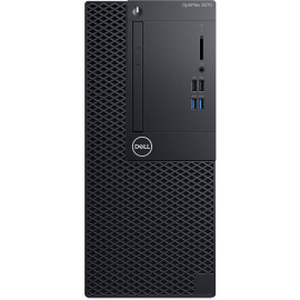 Ordinateur de bureau Dell OptiPlex 3070 - Tour (OP3070MT-I3-9100-W)