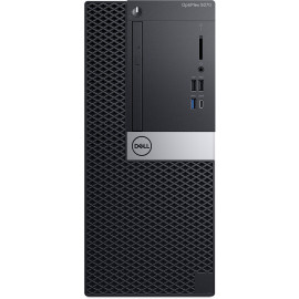 Ordinateur de bureau Dell OptiPlex 5070 - Tour (OP5070MT-I5-9500-W)