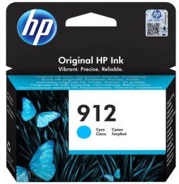 HP 912 Cyan - Cartouche d'encre HP d'origine (3YL77AE)