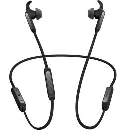 Écouteurs sans fil pour les appels et la musique Jabra Elite 45e Titanium Black