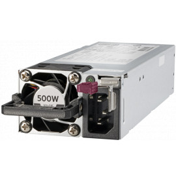Kit d'alimentation HPE Platinum, à logement flexible, enfichable à chaud, faible teneur en halogène, 500 W (865408-B21)