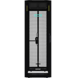 Rack sur palette avancé HPE 42U 600 mm x 1 075 mm G2 avec panneaux latéraux et baies (P9K07A)