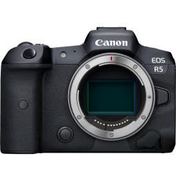 Appareil photo hybride Canon EOS R5 -Boîtier nu (4147C005AA)