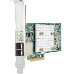 Contrôleur externe HPE Smart Array E208e-p SR de 10e génération (8 voies externes/Aucune mémoire cache), 12G SAS, PCIe