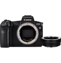 Reflex Canon EOS R boîtier + bague d'adaptation EF-EOS R (3075C023AA)
