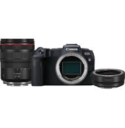 Reflex Canon EOS RP + objectif RF 24-105mm F4L IS USM + bague d'adaptation monture EF-EOS R (3380C043AA)