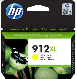 HP 912XL Jaune - Cartouche d'encre grande capacité HP d'origine (3YL83AE)