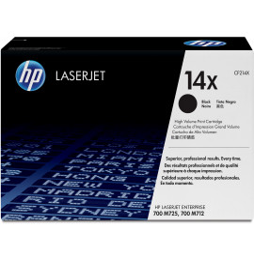 HP 14X Noir (CF214X) - Toner grande capacité HP LaserJet d'origine