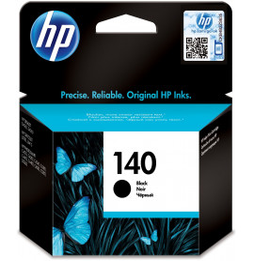 HP 140 Noir - Cartouche d'encre HP d'origine (CB335HE)