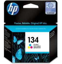 HP 134 trois couleurs - Cartouche d'encre HP d'origine (C9363HE)