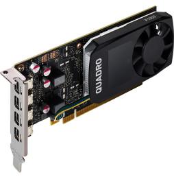 NVIDIA Quadro P1000 4GB Kit w 2 Adapters (1ME01AA)
