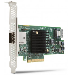 Carte RAID LSI 9217-4i4e SAS 6 Gb/s 8 ports (E0X20AA)