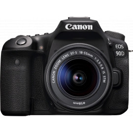 Canon EOS 90D + objectif EF-S 18-55mm IS STM (3616C010AA)