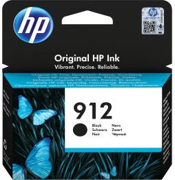 HP 912 Noir - Cartouche d'encre HP d'origine (3YL80AE)