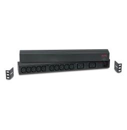 APC, Rack PDU Basic 1U, 16A,208&230V, (10)C13 & (2)C19 (AP9559)