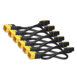 Power Cord Kit (6 ea), Locking, C19 to C20, 0.6m (AP8712S)