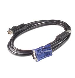 Câble KVM USB APC - 6 pi (1,8 m) (AP5253)