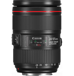 Objectif Canon EF 24-105mm f/4L IS II USM (1380C005AA)