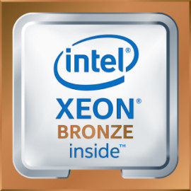 Kit processeur Intel Xeon-Bronze 3106 (1.7GHz/8-core/85W) pour HPE ProLiant DL360 Gen10 (860651)