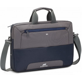 "Sacoche Rivacase 7737 steel blue/grey pour ordinateurs portables 15.6"" (7737 steel blue/grey)"