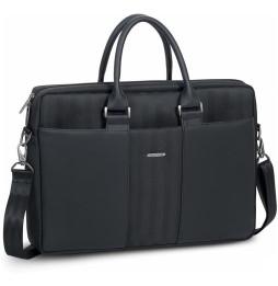 """Sacoche Rivacase noire Narita 8135 pour ordinateurs portables 15,6"""" (8135 Black)"""