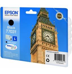 """Epson T7031 Noir - Cartouche d'encre Epson """"BIG BEN"""" d'origine (C13T70314010)"""