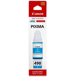 Canon GI-490 C Cyan - Bouteille d'encre Canon d'origine (0664C001AB)