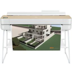 Traceur HP DesignJet Studio 36 pouces finition bois (5HB14A)