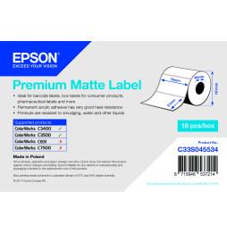 Rouleau étiquette Epson Premium Matte C3500/3400 (C33S045534)