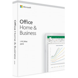 Microsoft Office Home & Business 2019 - Anglais (T5D-03346)