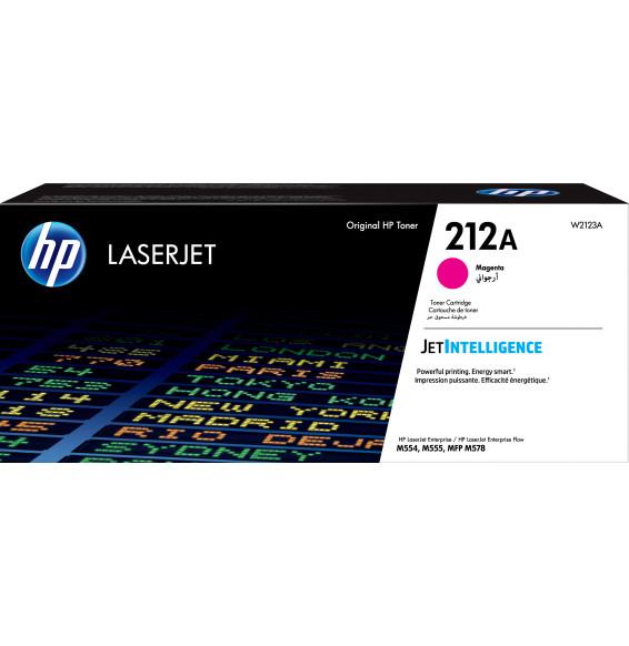 HP 212A Magenta - Toner HP LaserJet d'origine (W2123A)