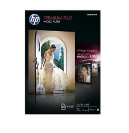 Papier photo mat satiné HP Premium Plus (20 feuilles/ A4/ 210 x 297 mm) (C6951A)