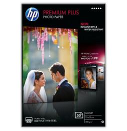 Papier photo brillant HP Premium Plus (50 feuilles/ 10 x 15 cm) (CR695A)