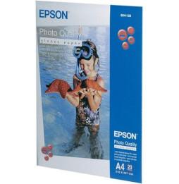 Papier glacé qualité photo Epson (20 Feuilles/ A4/ 210 x 297 mm) (C13S041126)