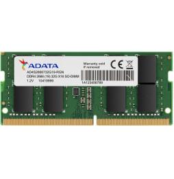ADATA Barrette mémoire Laptop DDR4-2666 SO-DIMM 8G (AD4S26668G19-SGN)