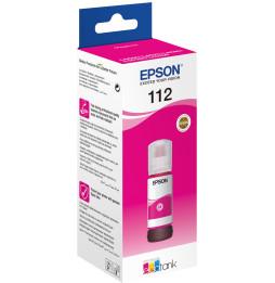 Epson 112 Magenta - Bouteille d'encre Epson EcoTank d'origine (C13T06C34A)