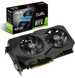 Carte graphique ASUS Dual GeForce RTX™ 2060 EVO 6GB DUAL-RTX2060-6G-EVO (90YV0CH4-M0NA00)