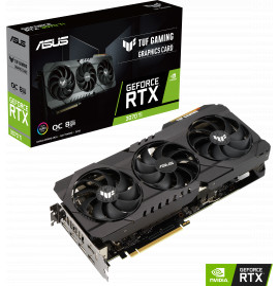 Carte graphique ASUS TUF Gaming GeForce RTX™ 3070 Ti TUF-RTX3070TI-O8G-GAMING (90YV0GY0-M0NA00)