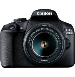 Reflex Canon EOS 2000D + Objectif EF-S 18-55mm IS II (2728C003AA)