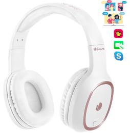 Casque Bluetooth avec Microphone NGSArtica Pride blanc (ARTICAPRIDEWHITE)