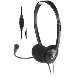 Casque-Micro de conversation NGS MS 103 PRO avec Microphone réglable (MS103PRO)