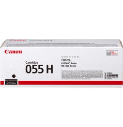 Canon 055 H Noir - Toner Canon haut rendement d'origine (0485C002AA)